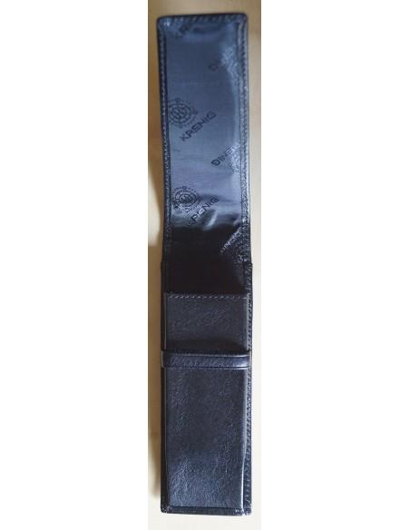 Etui na długopisy Krenig 12032 czarne