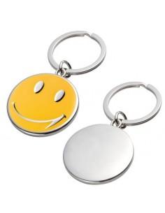 Brelok stalowy Smile