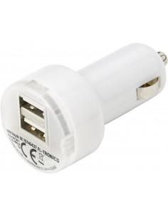Ładowarka samochodowa 2 gniazda USB