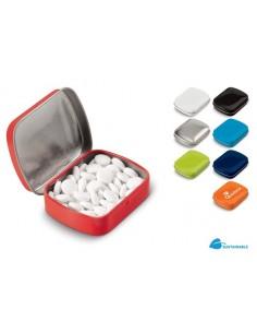 Pudełko z miętówkami stalowe