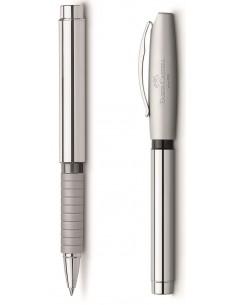 Pióro kulkowe Faber Castell Basic Metal Shiny