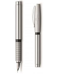 Pióro wieczne  Faber Castell Basic Metal Shiny