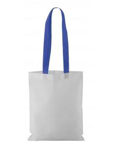 Torba  na zakupy z włókniny z białym korpusem