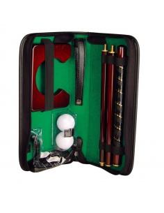 Zestaw do gry w golfa, kolor czarny