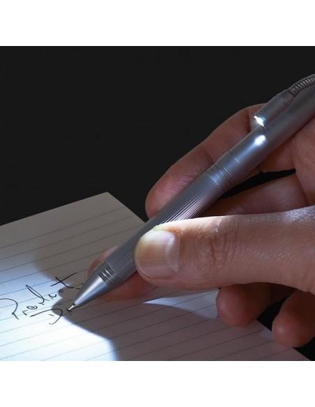 Długopis metalowy z latarką Fusion