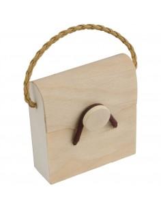 Drewniane pudełeczko na prezenty