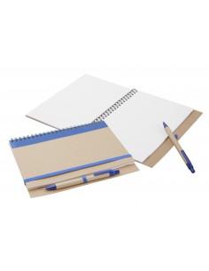 Notatnik ekologiczny z długopisem A5