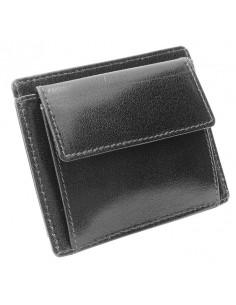 Mini portfel skórzany