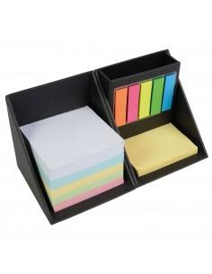 Zestaw na biurko- notatnik , karteczki  w kształcie kostki