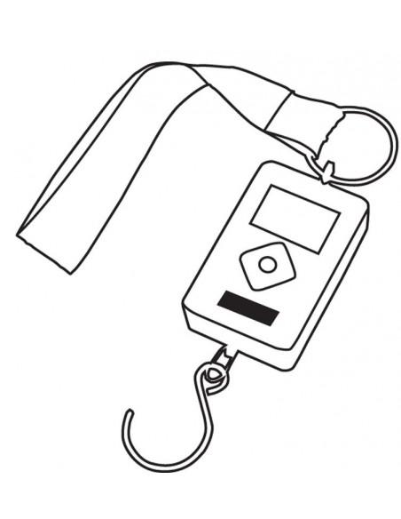 Elektroniczna waga do bagażu TALENT