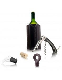 Zestaw do podawania wina dla początkujących (4 elementy)- Vacu Vin