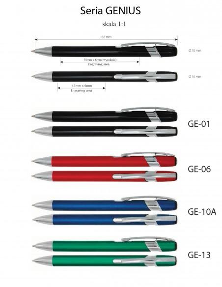 Długopis aluminiowy  Genius