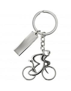 Brelok do kluczy rowerzysta