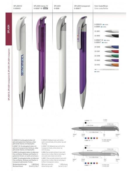 Długopis Uma Splash