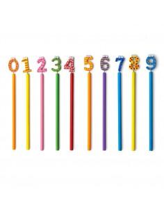 Ołówek  cyfry od 0 do 9