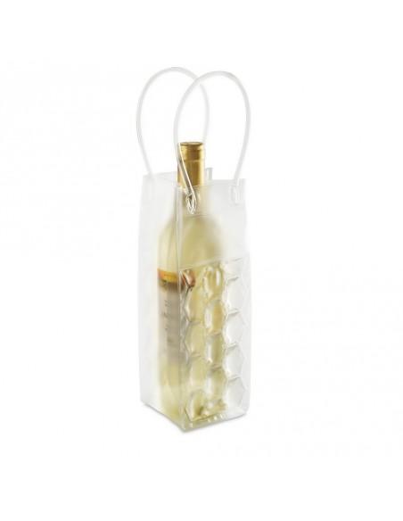 Cooler na butelkę, torba z panelami wypełnionymi żelem