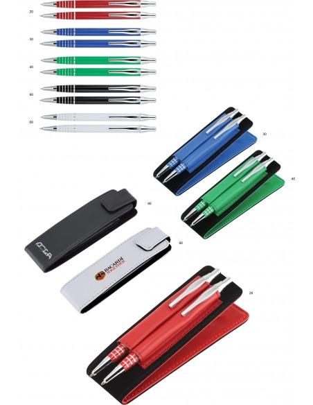 Zestaw piśmienny YOGI długopis + ołówek