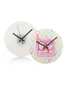 Zegar ścienny  z hartowanego szkła z własną grafiką