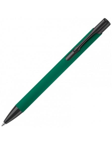 Długopis gumowany z metalu Alicante Toppoint