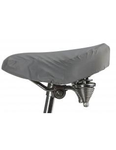 Odblaskowy pokrowiec na siodełko rowerowe