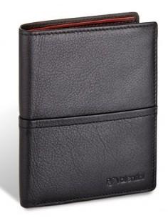 Męski portfel Valentini Black & Red Diamond 154 265
