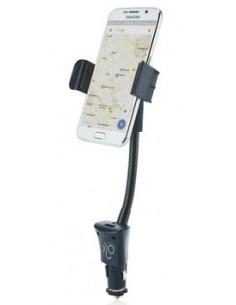 Ładowarka samochodowa USB, uchwyt na telefon