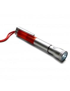 Latarka, długopis na sznurku