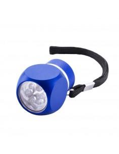 Latarka 6 LED, pasek na rękę