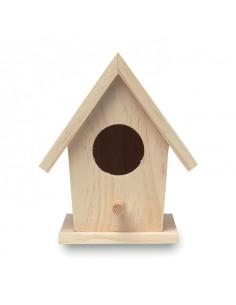 Drewniany domek dla ptaków BIRDIE HOUSE