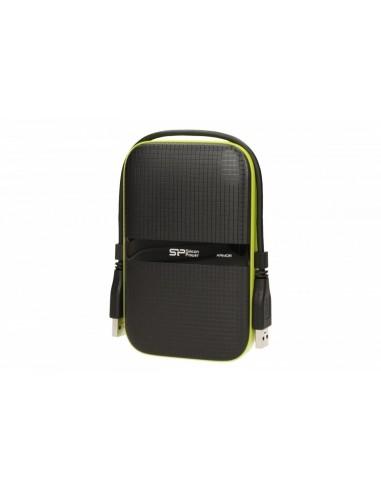 Silicon Power ARMOR A60 1TB USB 3.0 BLACK-GREEN/PANCERNY wstrząso/pyło i wodoodporny