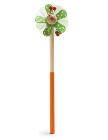Ołówek z drewnianą lalką