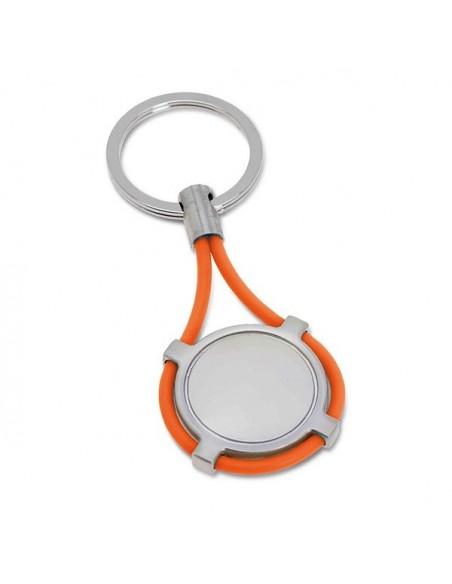 Breloczek do kluczy metal silikon