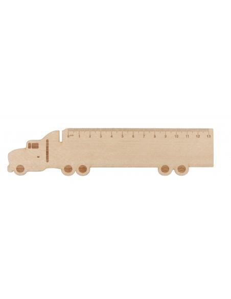 Drewniana linijka dla dzieci