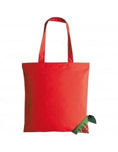 Składana torba na zakuoy truskawka