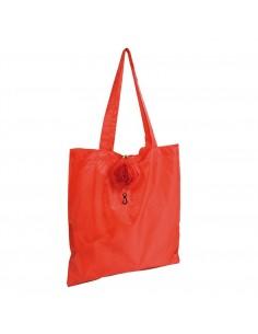 Składana torba na zakupy róża