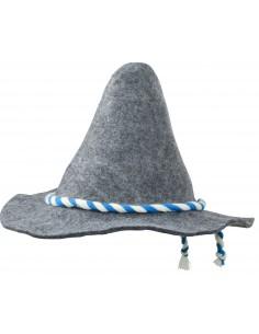 Spiczasty kapelusz filcowy w tradycyjnym stylu