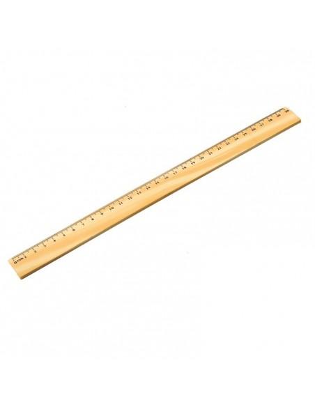 Linijka drewniana 30 cm