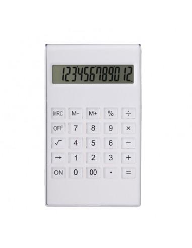 Kalkulator Transparent, biały