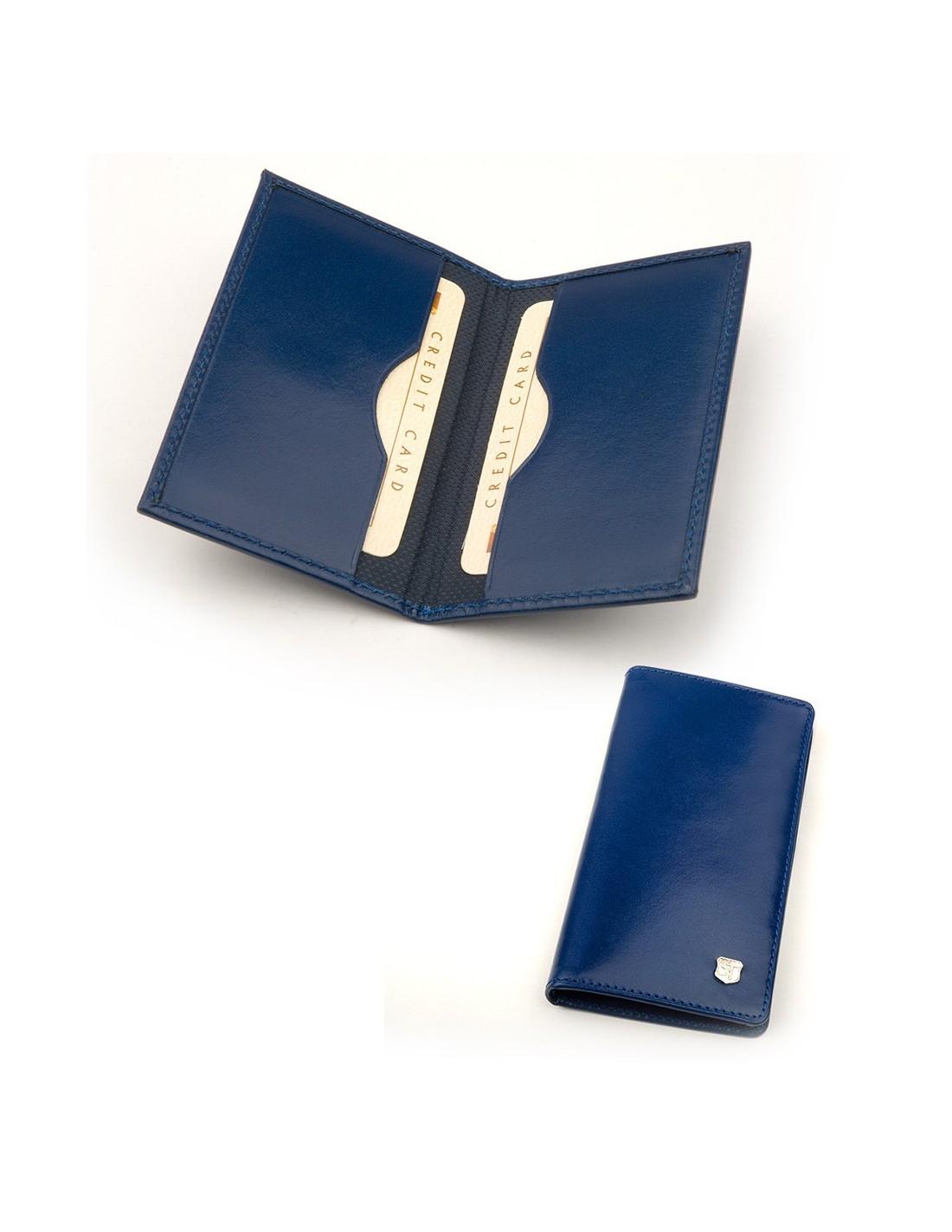 1ee725c3c652a Etui na wizytówki i karty ze skóry z własnym nadrukiem