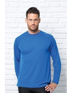 Sportowy T-Shirt męski długi rękaw JHK