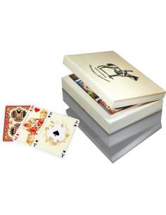 Karty do gry Piatnik w szktułce