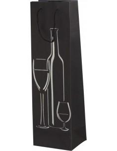 Torebka upominkowa na wino