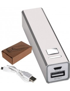 Power bank 2200 mAh metalowa obudowa