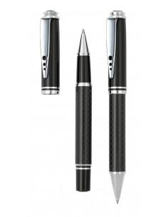 Zestaw do pisania Carbon długopis i pióro
