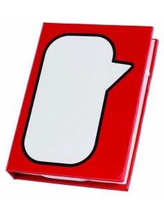Pudełko na notatki SPEECH BUBBLE w kształcie książeczki