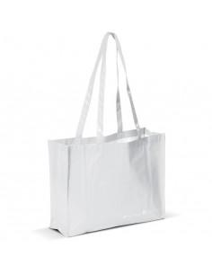 Duża torba wykonana w 80% z materiałów PET pochodzących z recyklingu