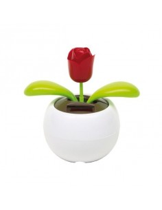Kwiatek na baterię słoneczną Waving Rose