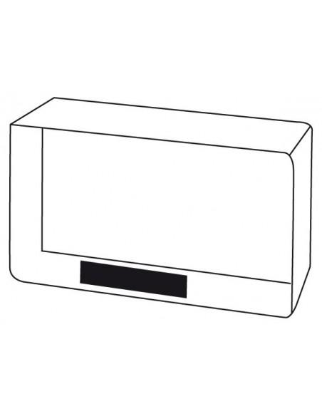 Cyfrowy zegar stołowy SMOULDER z czujnikiem światła
