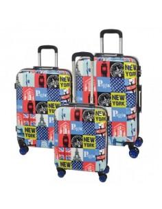 Zestaw walizek na kółkach METROPOLITAN