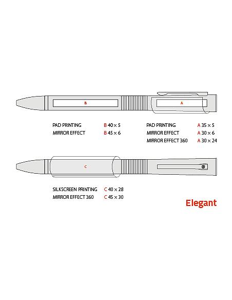 Długopis metalowy Elegant